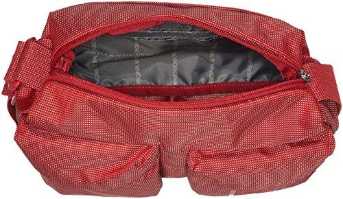 Mujer Md20 Scarlet Flame de bolsos Duck Mandarina Rojo Shoppers hombro Tracolla y SqxawRF6
