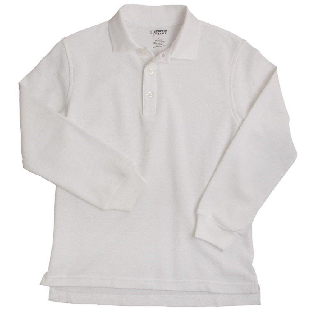 Reg /& Plus Sizes French Toast School Uniform Long Sleeve Unisex Knit Shirt