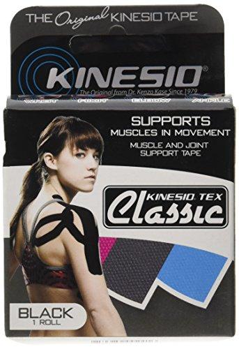 Kinesio Tex Classic, Black, 2 in x 13.1 (Kinesio Tex Tape)