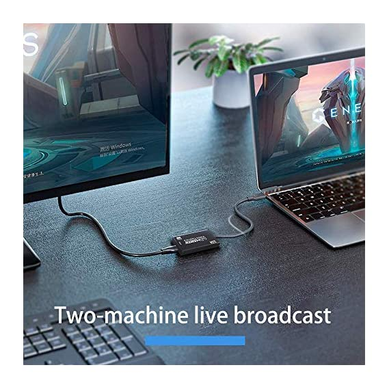 SSK 4K HDMI Video Capture Card 1080p Game Capture Card USB 2.0 Recorder Box Device for Live Streaming Video Recording