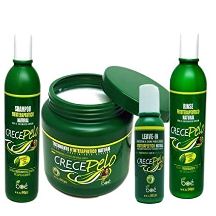 BOE Crece Pelo Combo Set II for Hair Growth by BOE: Amazon ...