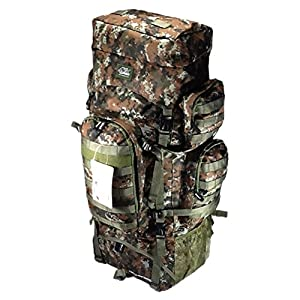 """34"""" 5200 cu. in. Tactical Hunting Camping Hiking Backpack THB001 DM BROWN DIGITAL CAMOUFLAGE"""
