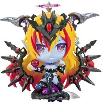 Eikoh Puzzle & Dragons Divine Queen Hera Pugyutto Chibi Figure Collection Vol.6 Mini Pugycolle Character and PAD PND P&D DQ
