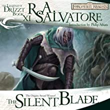 The Silent Blade: Legend of Drizzt: Paths of Darkness, Book 1 Audiobook by R. A. Salvatore Narrated by Victor Bevine