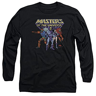 Masters Of The Universe Animated TV Villain Characters Adult L-Sleeve T-Shirt