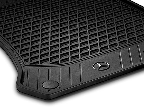 Genuine OEM Mercedes Benz GLC (X253) All Season Weather Floor Mats (Set of 2) Front (Black) (Oem Mercedes Accessories)
