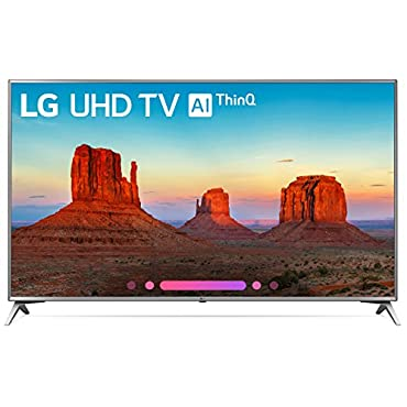 LG Electronics 70UK6570PUB 70 4K Ultra HD Smart LED TV (2018 Model)