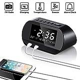 Best Dual Alarm Clocks - Alarm Clock Radio Digital FM with LCD Screen Review