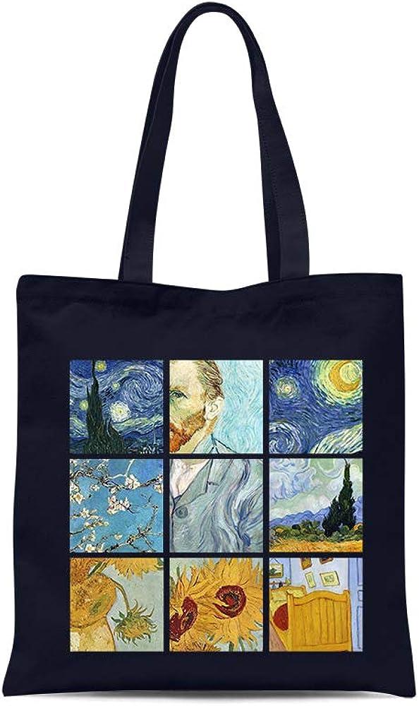 all sas Shopper bag frida kahlo 100/% cotton canvas print Made in Italy