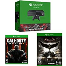 500GB Xbox One Console – Gears of War: Ultimate with Call of Duty: Black Ops III and Batman Arkham Knight