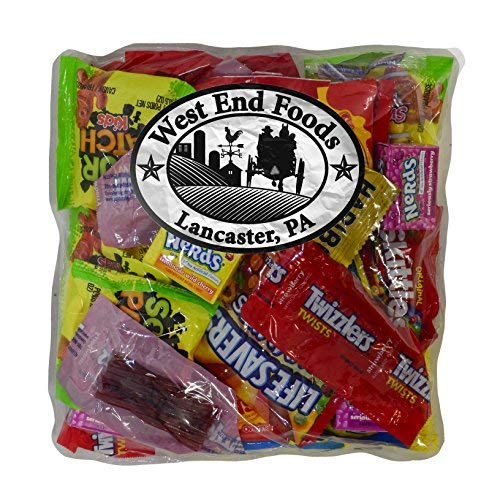 One Pound Packages - Gift Bulk Candy (1 Pound) of Snack Mix with Life Savers, Skittles, Starburst, Swedish Fish, Twizzlers, Nerds, Sour Patch