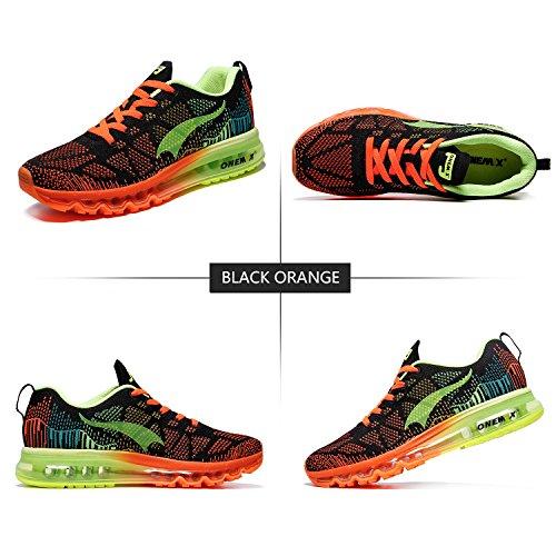 Knit Noir Onemix Course 3d Homme Chaussures Sports Sneaker Fluorescent Max Athletic De Vert Running Air Flyknit nWWag1Cx