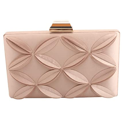 1a02881db7370 Image Unavailable. Image not available for. Color: Sunshineliu Lady Girl  Women's Flower Evening Clutch Bags Bridal Handbag Purse for Travel Wedding  Prom ...