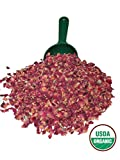 Alive Herbals Premium Food/Culinary Grade A Dried Red Rose Buds And Petals Organic (4 oz. Bag)