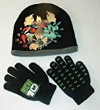 : Ben 10 Winter Hat & Gloves combo set