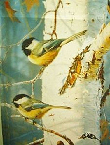 Chickadee on Brch Tree Winter Garden Flag (Briarwood Outlet)