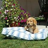 Snoozer Pool and Patio Rectangle Pet Bed, Medium, Strawberry Slushy, My Pet Supplies