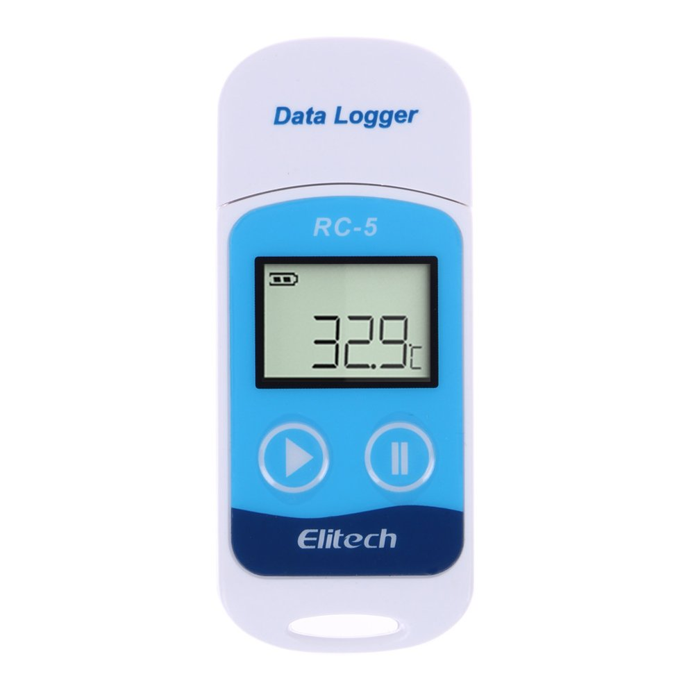 prettygood7 Mini USB Temperature Data Logger Temp Recorder Internal Sensor New