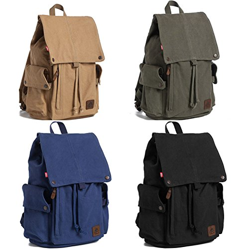 SQI Geschichte der Zeit, Canvas Bag, Herren business casual Rucksack lady student Beutel, Reisen outdoor Pack