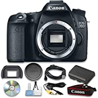 Canon EOS 70D Digital SLR Camera (Body Only) Wi-Fi Enabled - International Version