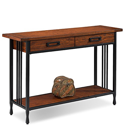 Leick 11233 Ironcraft Sofa Table - Mission Style Console Table