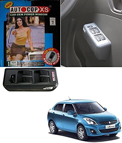 Autocop 4 Door Power Window For Maruti Swift Dzire With Automatic Roll Up Relay By Carsaaz Amazon In Car Motorbike
