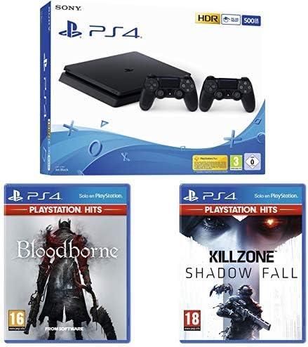 Playstation 4 Pro (PS4) - Consola de 1TB + 20 euros Tarjeta Prepago (Edición Exclusiva Amazon) - nuevo chasis G + Bloodborne Hits: Amazon.es: Videojuegos