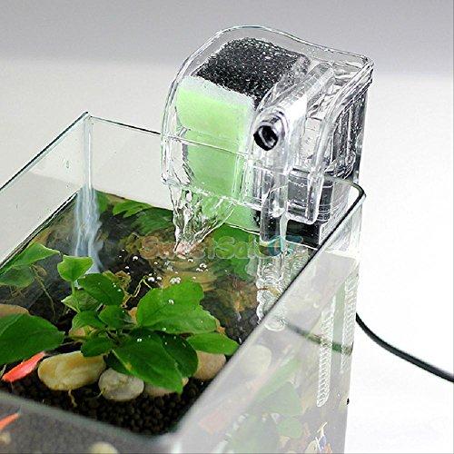 noiseless fish tank power filter external aquarium fish turtle tank ...
