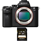 Sony Alpha a7II Mirrorless Digital Camera (Body Only) + Free Sony 64 GB SD Card.