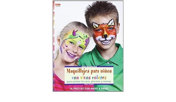 Maquillajes para niños con vivos colores para pintar la cara ...