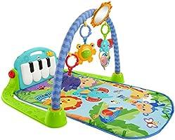 Fisher-Price - Gimnasio-piano pataditas, juguete bebé +0 meses (Mattel BMH49)