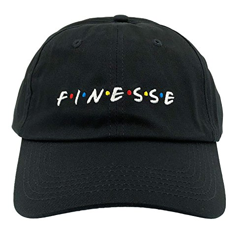 MLSMAMZ Finesse Hat Dad Hat Baseball Cap Embroidered Adjustable