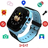 Kids GPS Smartwatch,1.44 inch Touch Anti-lost Smart Watch for Children Girls Boys with Camera SIM Calls SOS Smartwatch Bracelet