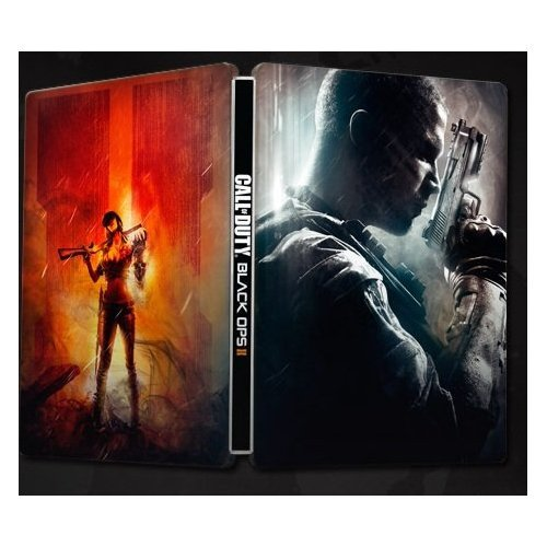Call of Duty Black Ops II: Limited HARDENED Edition Steelbook Only [Xbox 360 G1][Playstation 3 PS3][Nintendo Wii U] NEW