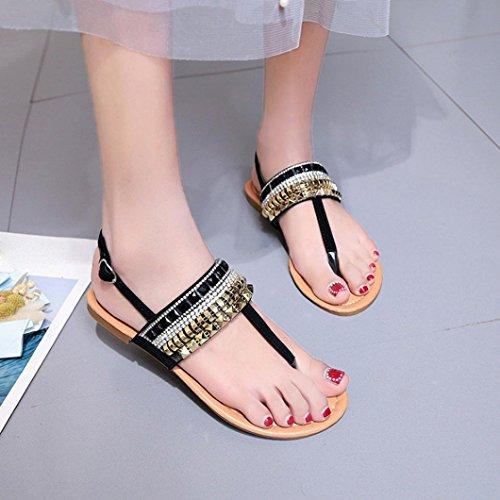 Flops Sandals Toepost Size Rose Wedding Sparkly 2 Lolittas Slim Bling Glitter Embellished Diamante Gold 8 Women Cushioned Flip Shoes Black Jewelled Slingback nUwnX4xIO
