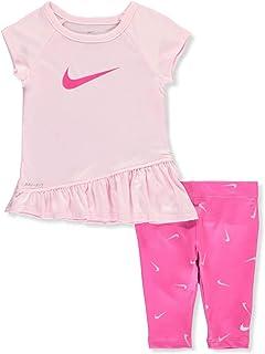 Amazon.com: Nike para bebé niña playera, 12 meses, Blanco ...