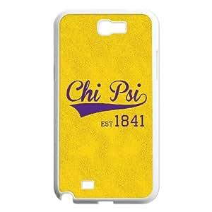 Samsung Galaxy N2 7100 Cell Phone Case White Yellow Chi Psi 1841SLI_819965
