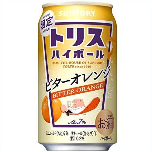 サントリー トリスハイボール ビターオレンジ 350ml缶24本入りケース