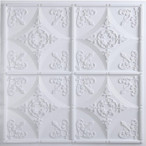 Cathedral Ceiling Tile 24 x 24 White