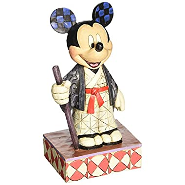 Enesco Disney Traditions by Jim Shore Mickey in Japan Figurine, 6 IN