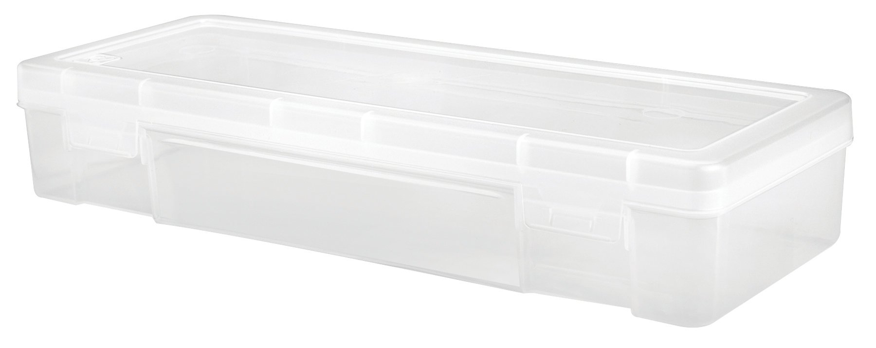 IRIS 585172 Modular Supply Case, PVC-Free ,Large,10 Pack, Clear by IRIS USA, Inc.