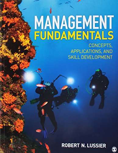 BUNDLE: Lussier: Management Fundamentals, 8e + Lussier: Management Fundamentals, 8e IEB
