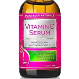 BEST ORGANIC Vitamin C Serum For Your Face. Botanical 20% Vitamin C + E + Hyaluronic Acid Serum. Anti Aging Serum Moisturizer with Natural Ingredients. Leave Your Skin More Radiant, Beautiful & Youthful Looking. 100% MONEY BACK GUARANTEE