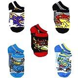 Skylanders Boys 5 pack Socks (4-6 Toddler, Skylanders Multi)