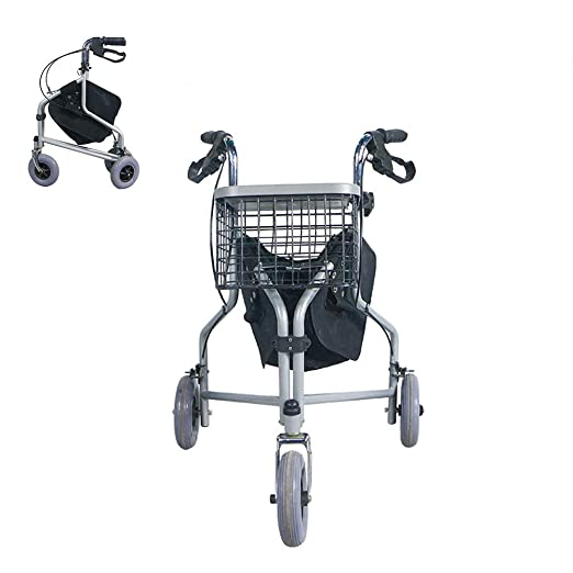 Andadores para discapacidad Andador de Rodillos Plegable con ...