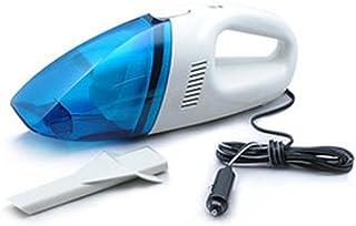 AMYMGLL tension vide multi-fonction de fumée de type portable aspirateur portable de voiture 60W haute puissance eau et poussière 12 (V) de matériau ABS longueur de ligne 250CM super forte aspiration petit bleu et blanc