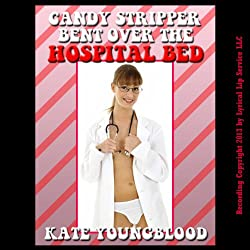 Candy Striper Bent Over the Hospital Bed