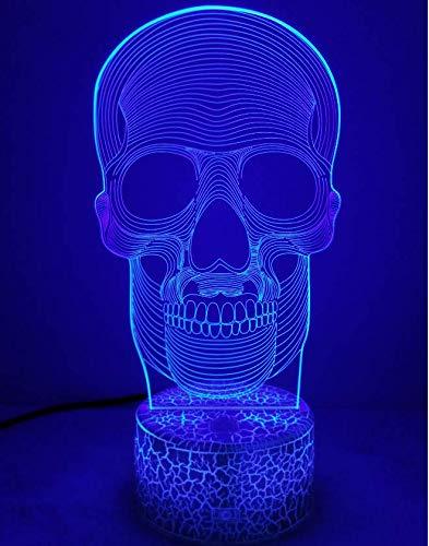 3D Auto Tractor ilusi/ón Optica L/ámpara Luz Nocturna 7 Colores Cambiantes Touch USB de Suministro de Energ/ía Juguetes Decoraci/ón Regalo de Navidad Cumplea/ños