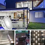 Recessed LED Deck Lights Kits 6 Pack,SMY