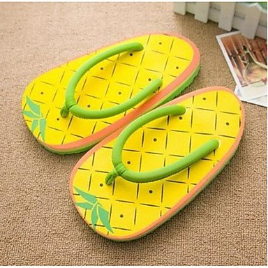 Women'S Beach Cute Handmade Shape Creative CN38 Fruit 5 Personality US7 RTRY 3D UK5 Slippers 2017 EU38 5 Printed Fzw1x1v